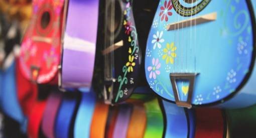 Spectacular Guitars with Famous Stories